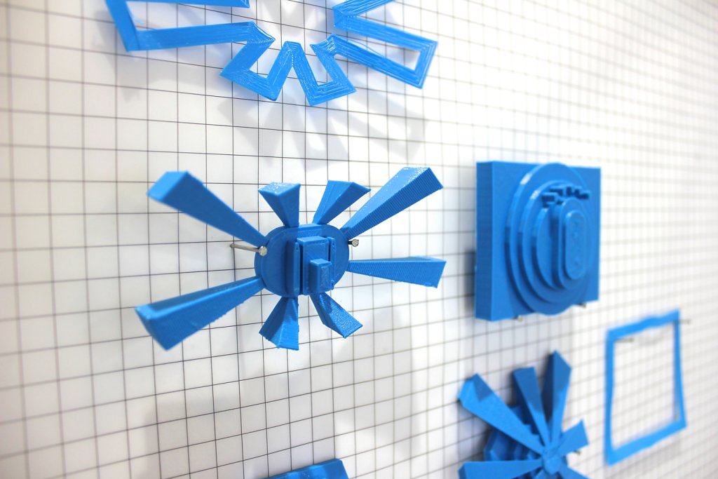 Space corridors / 3D print ornaments